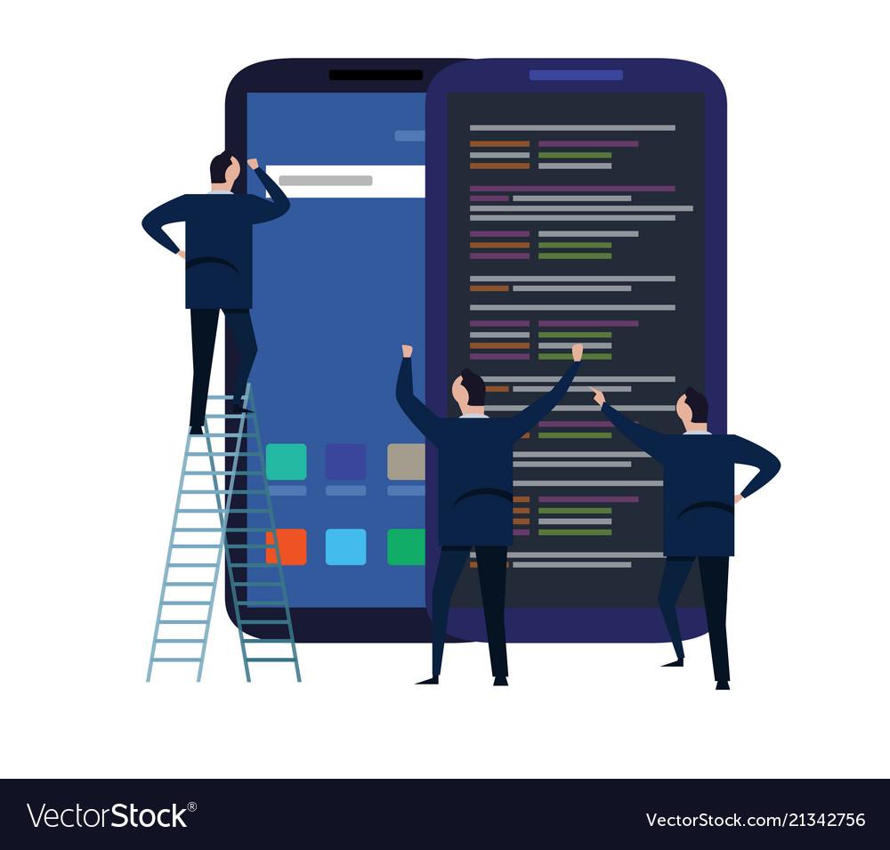Mobile application and design development process