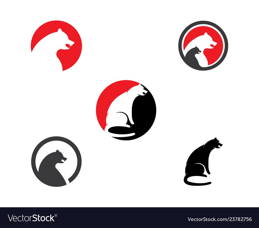 puma logo design royalty free vector image vectorstock vectorstock