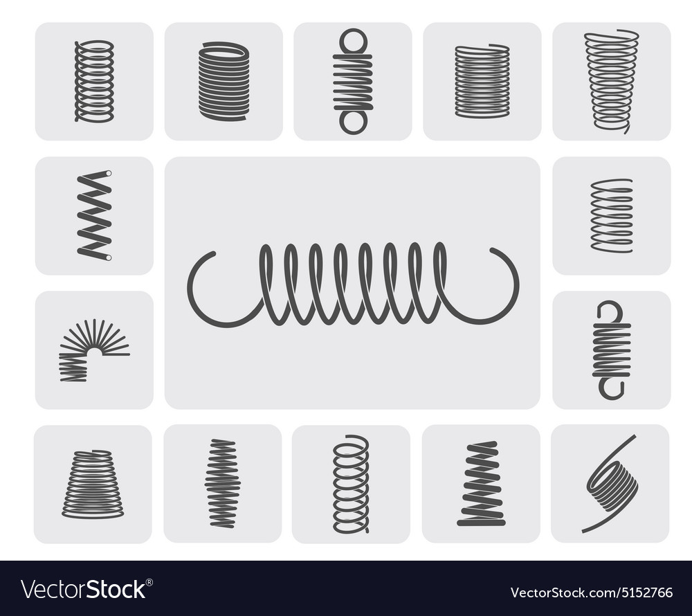Metal Springs Set