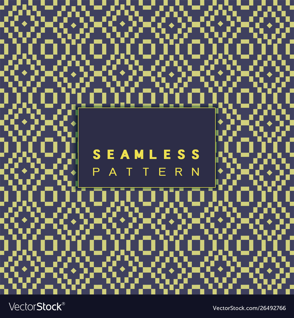 Seamless mosaic pattern and repeating thai modern