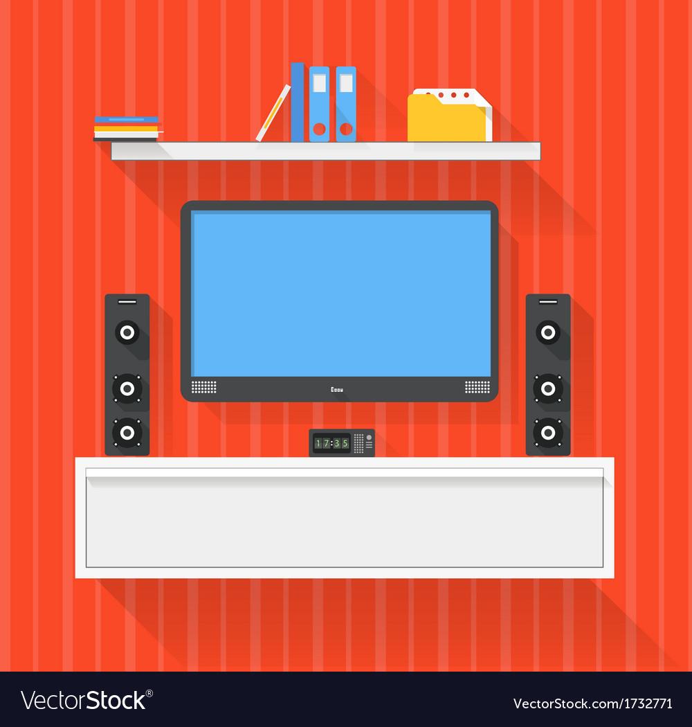 Modern home media entertainment system