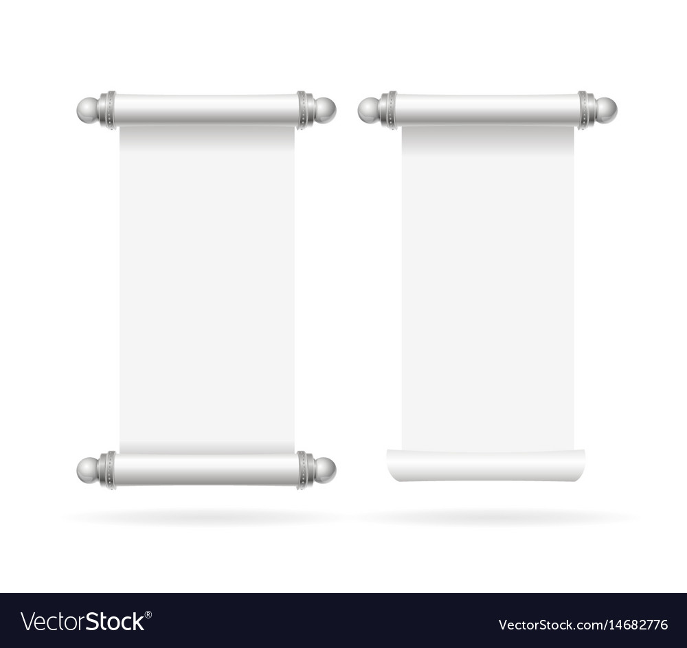 scroll template with lines