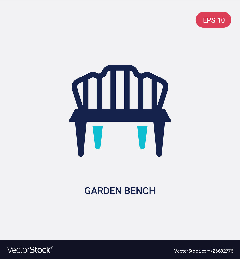 Outstanding Two Color Garden Bench Icon From Agriculture Beatyapartments Chair Design Images Beatyapartmentscom