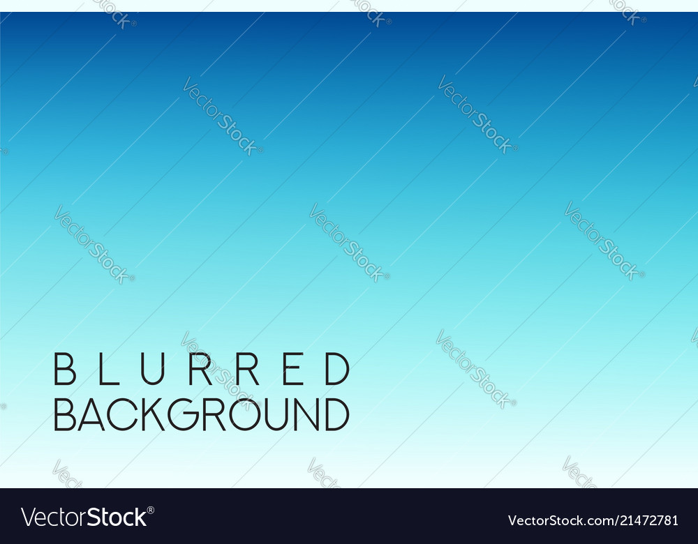 Horizontal wide blue sky blurred background