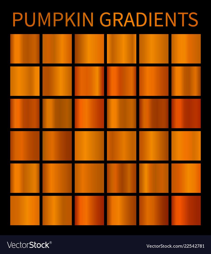 Orange gradients for halloween banners flyers