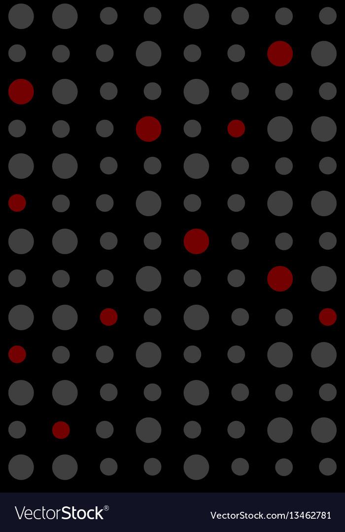 Pattern circlessample pattern vector image