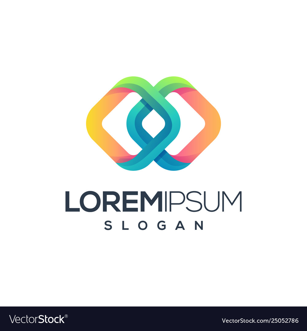 Abstract logo design ready to use