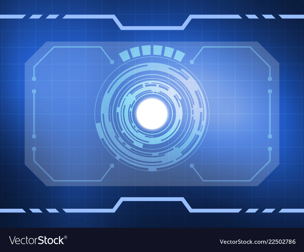 Abstract virtual reality technology background