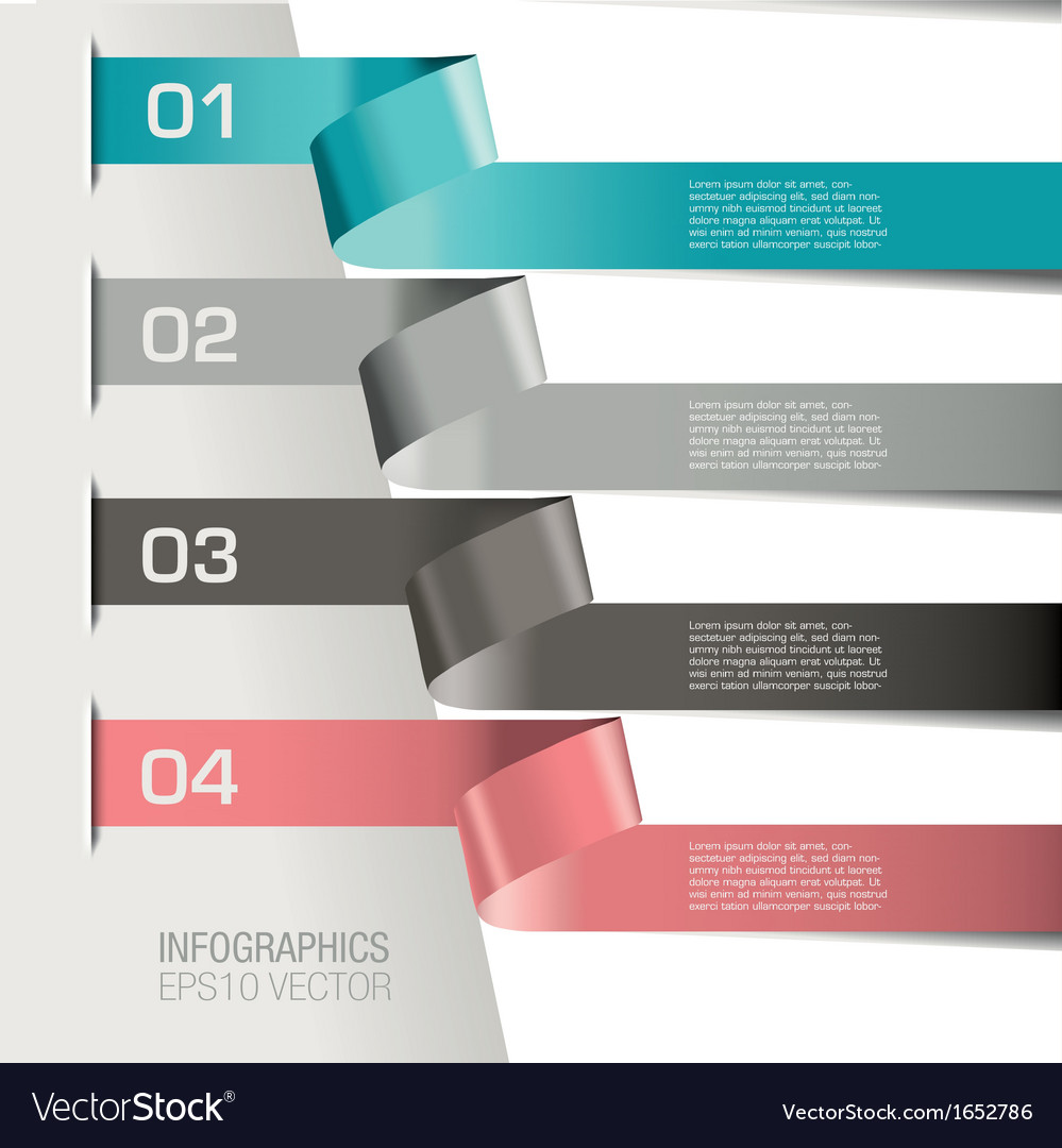 Paper Spirial infographic Two