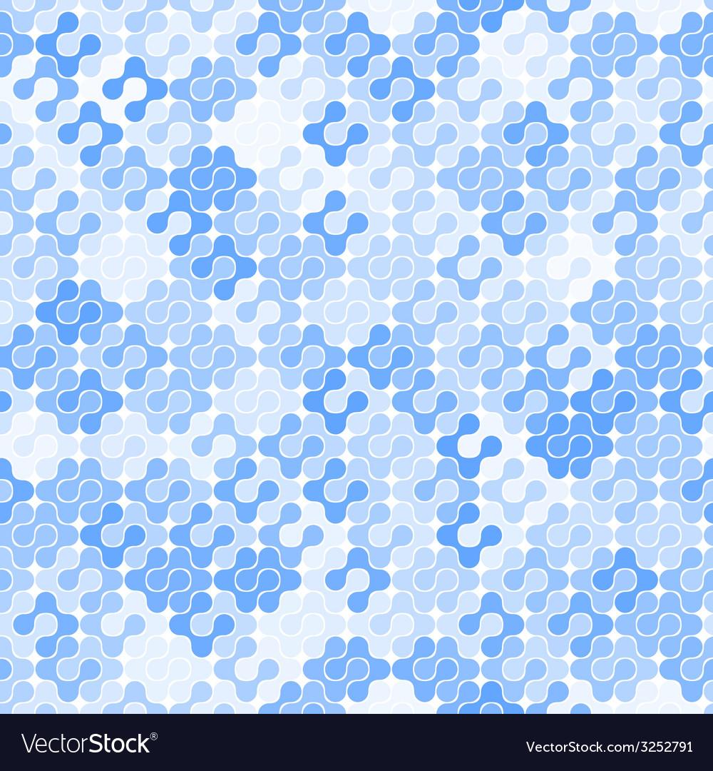 Abstract Seamless Meta Ball Pattern
