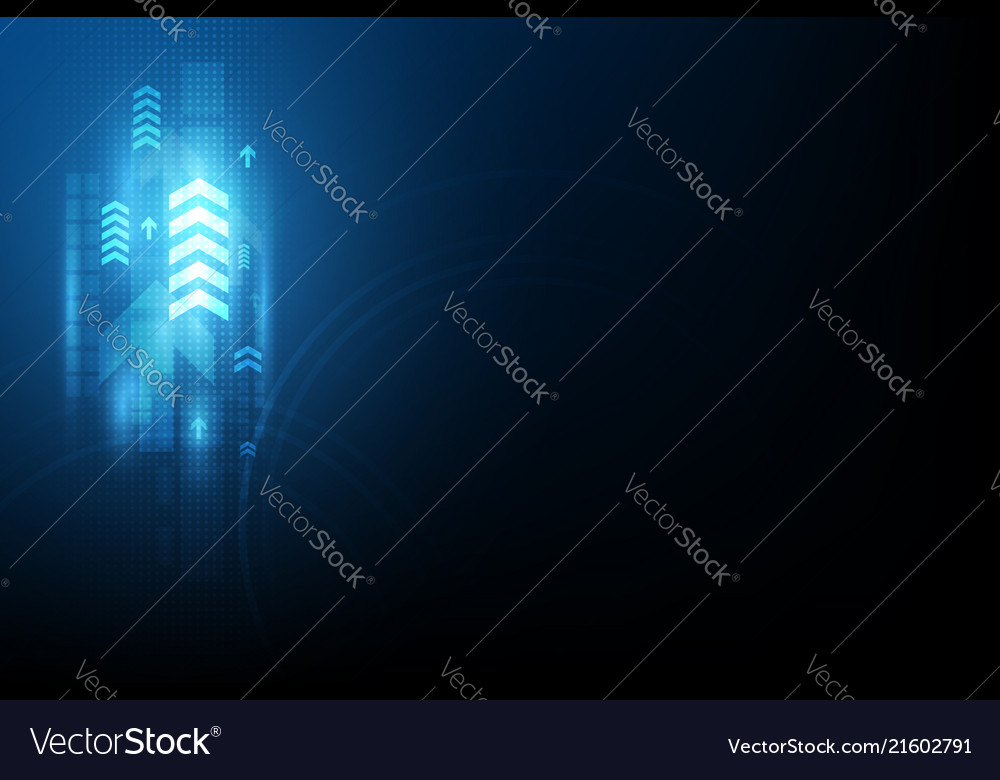 Arrow speed communication abstract background