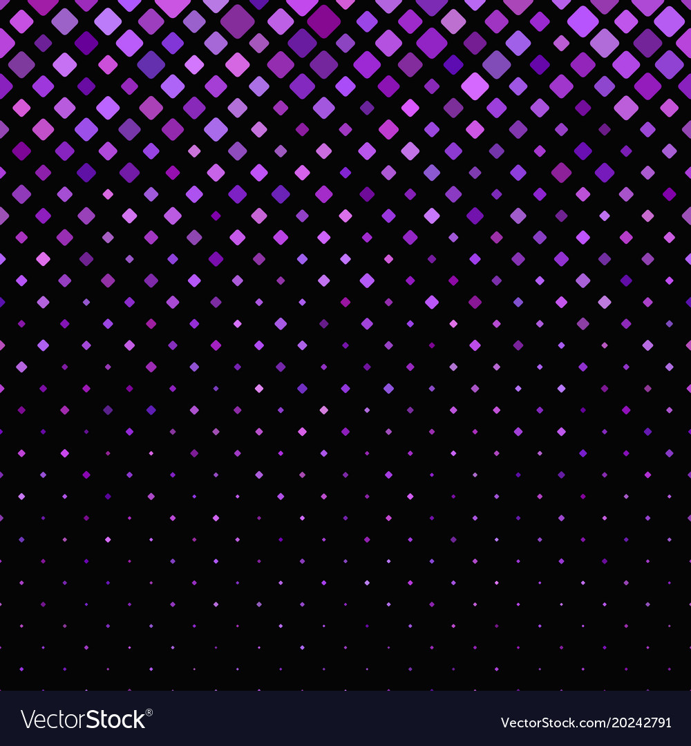 Geometrical diagonal rounded square pattern