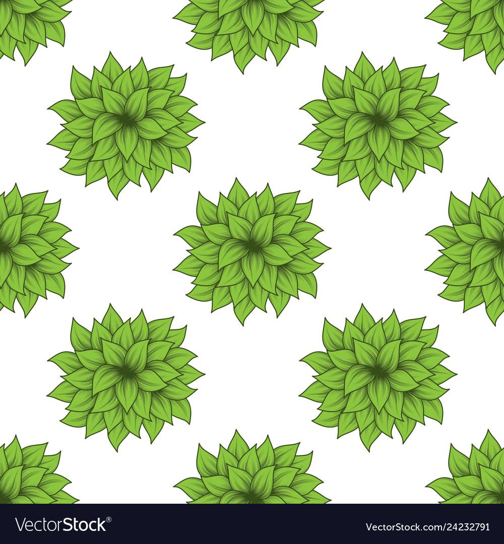 Green bush set