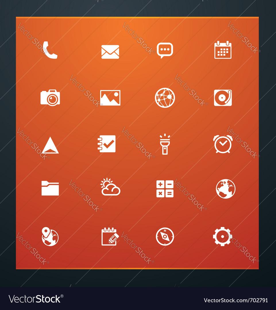 Universal glyphs 16 phone symbols 5