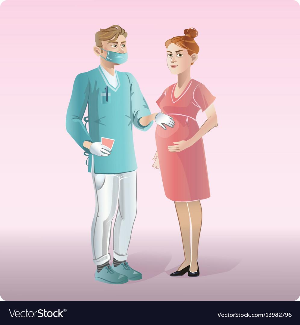 Cartoon medicine design concept