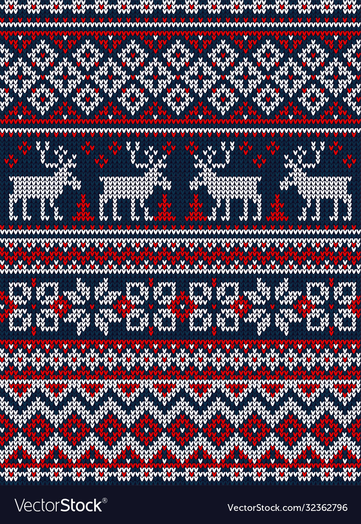 Ugly sweater merry christmas party ornament