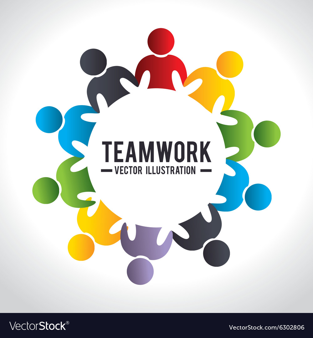 Business Teamwork And Leadership Royalty Free Vector Image