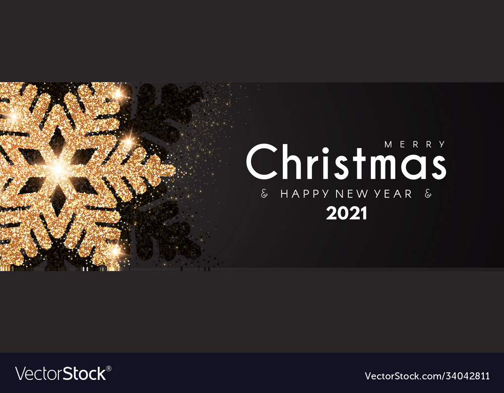 Merry Christmas 2021 Pictures Gray Merry Christmas And Happy New 2021 Year Elegant Vector Image