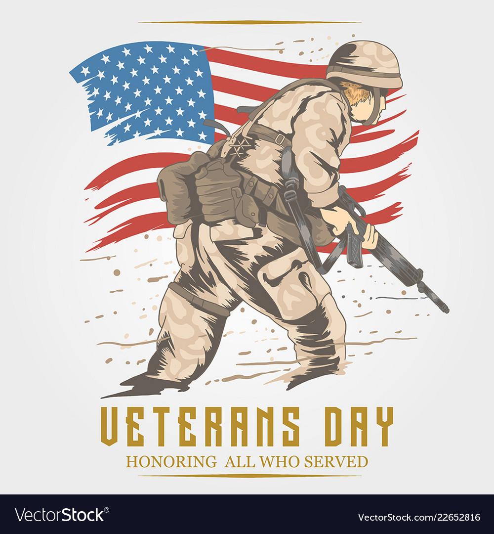 Veterans day usa army