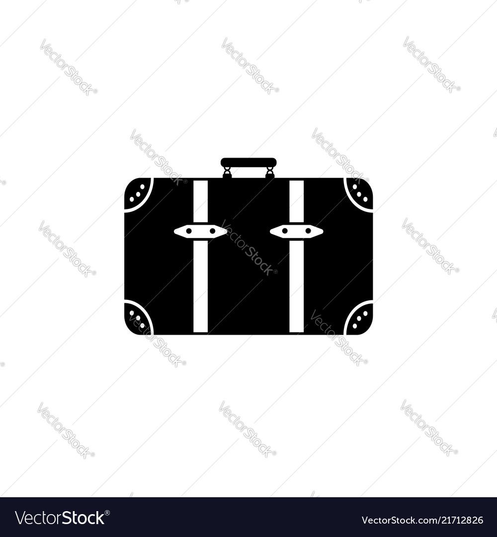 Baggage icon black on white