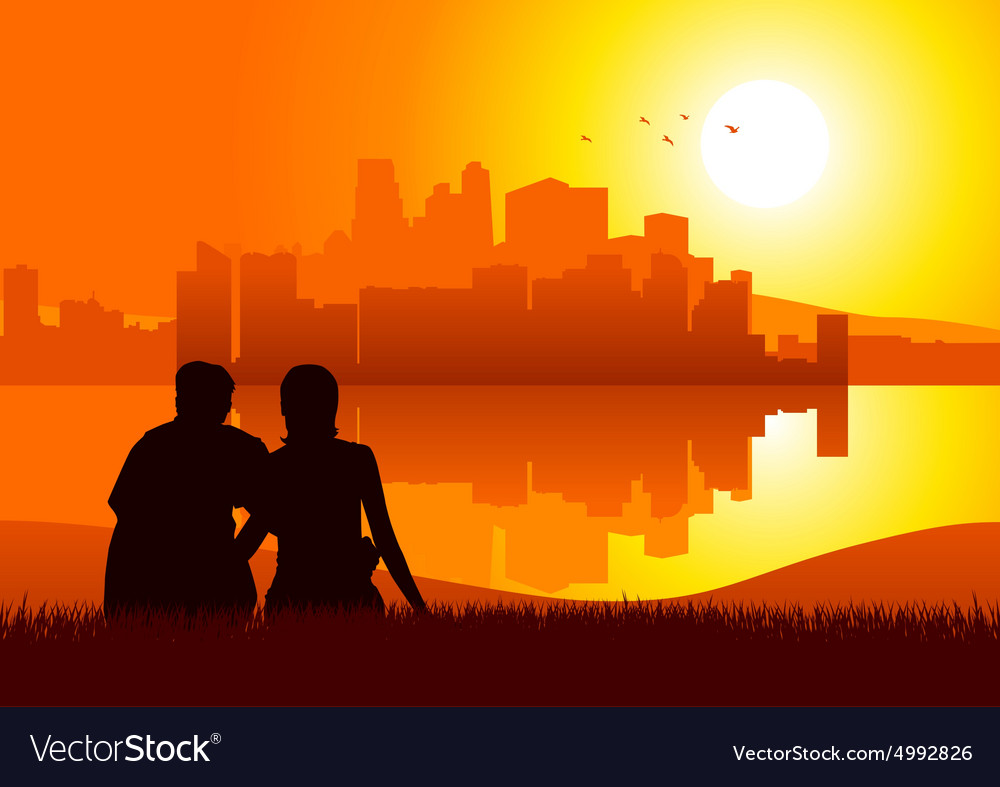 Romantic Moment vector image