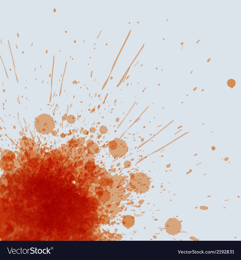 Abstract orange spots background with place for vector image