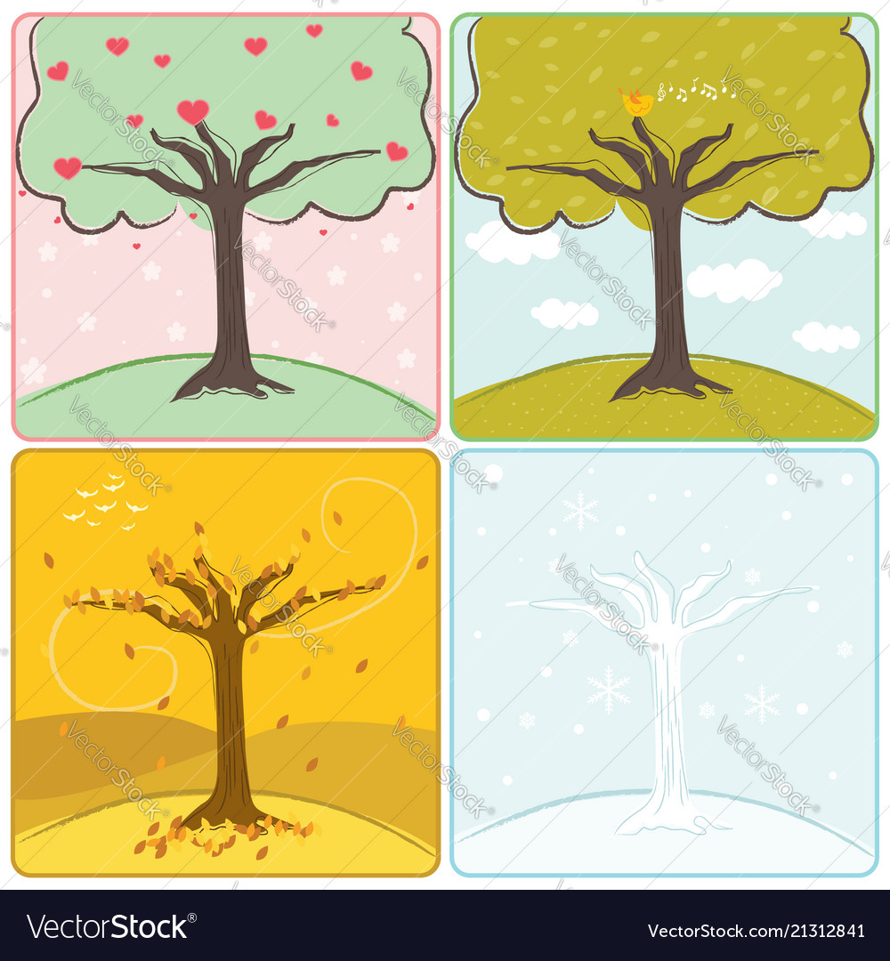 Four season trees