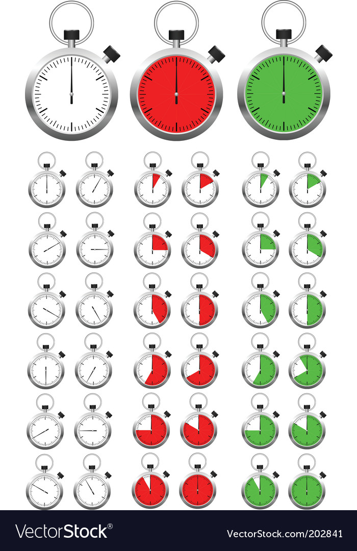 Object dial vector image