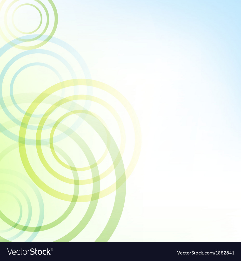 Pastel Background With Circles
