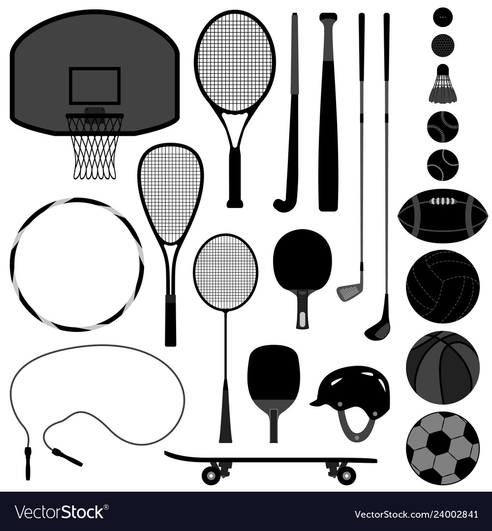 Sport tool basketball tennis baseball volleyball