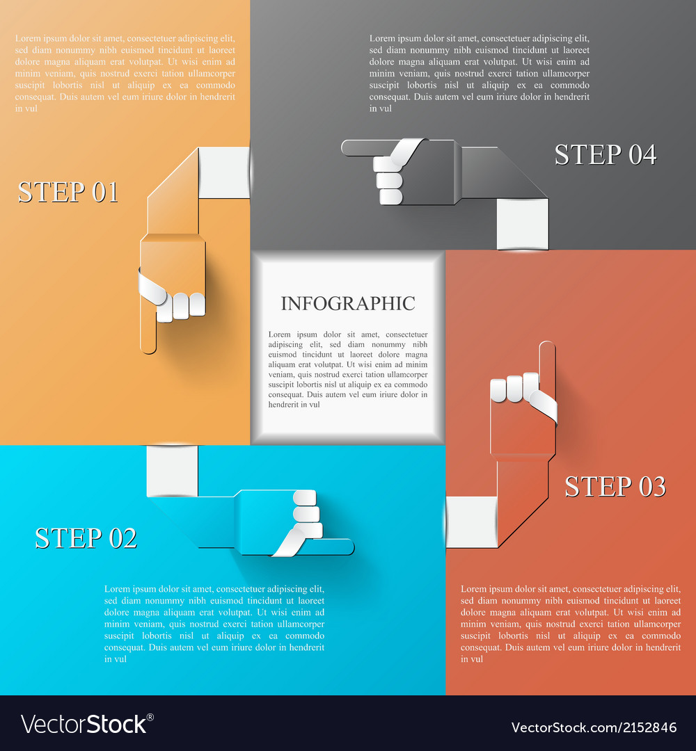 Infographic design template eps 10