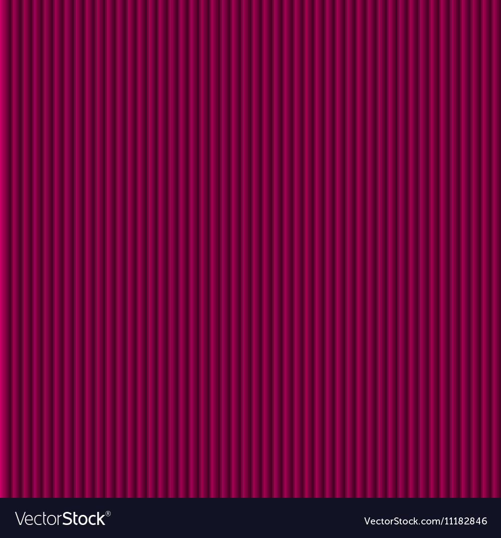 Purple galousie Volume of vertical lines vector image
