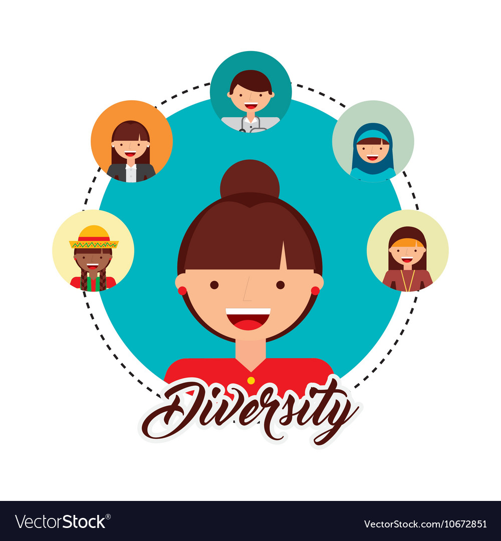 Diversity of world cultures royalty free vector image diversity of world cultures vector image publicscrutiny Choice Image