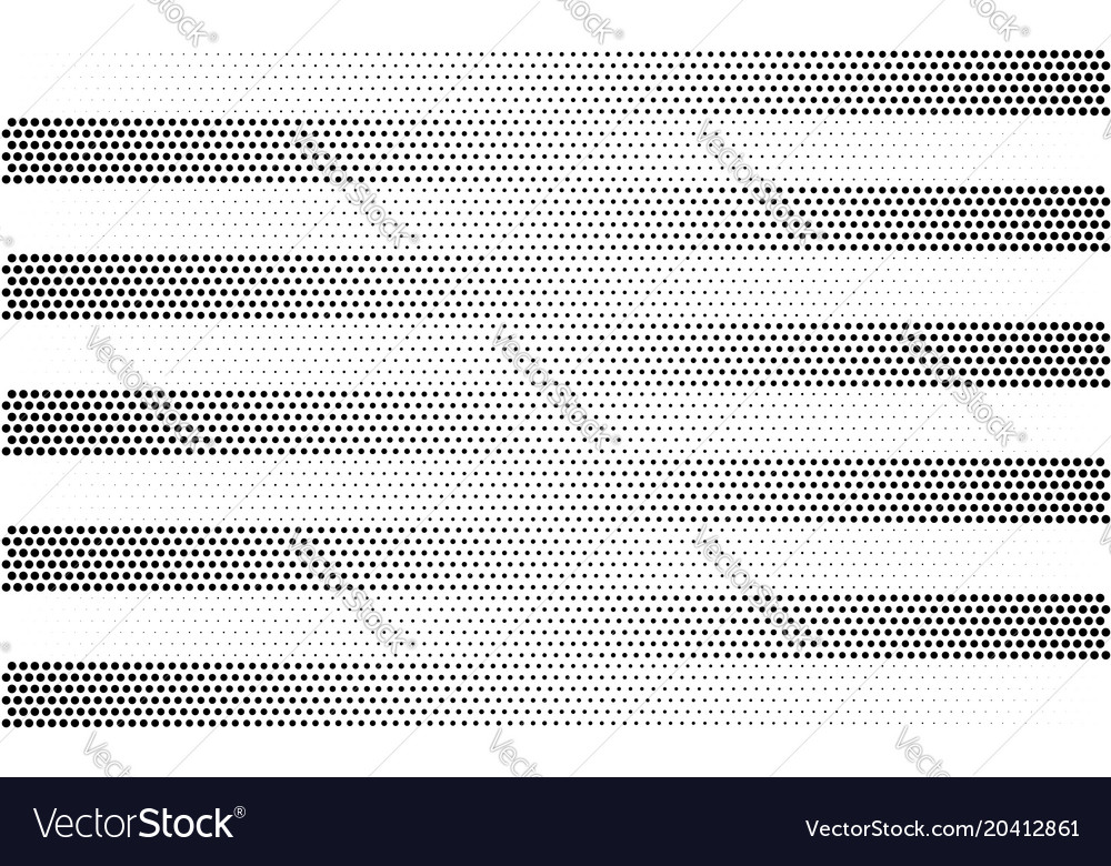 Halftone gradient stripes background