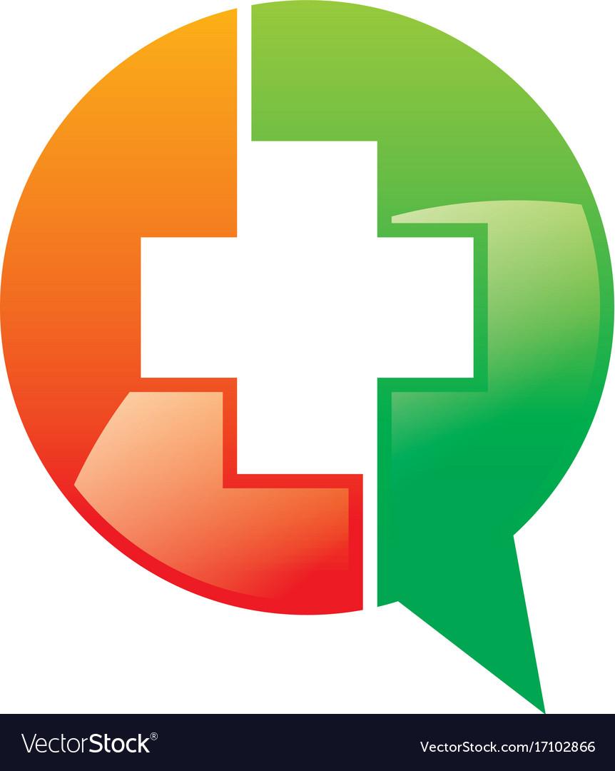 Hospital cross talk media logo