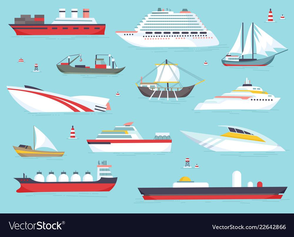 Ships at sea shipping boats ocean transport