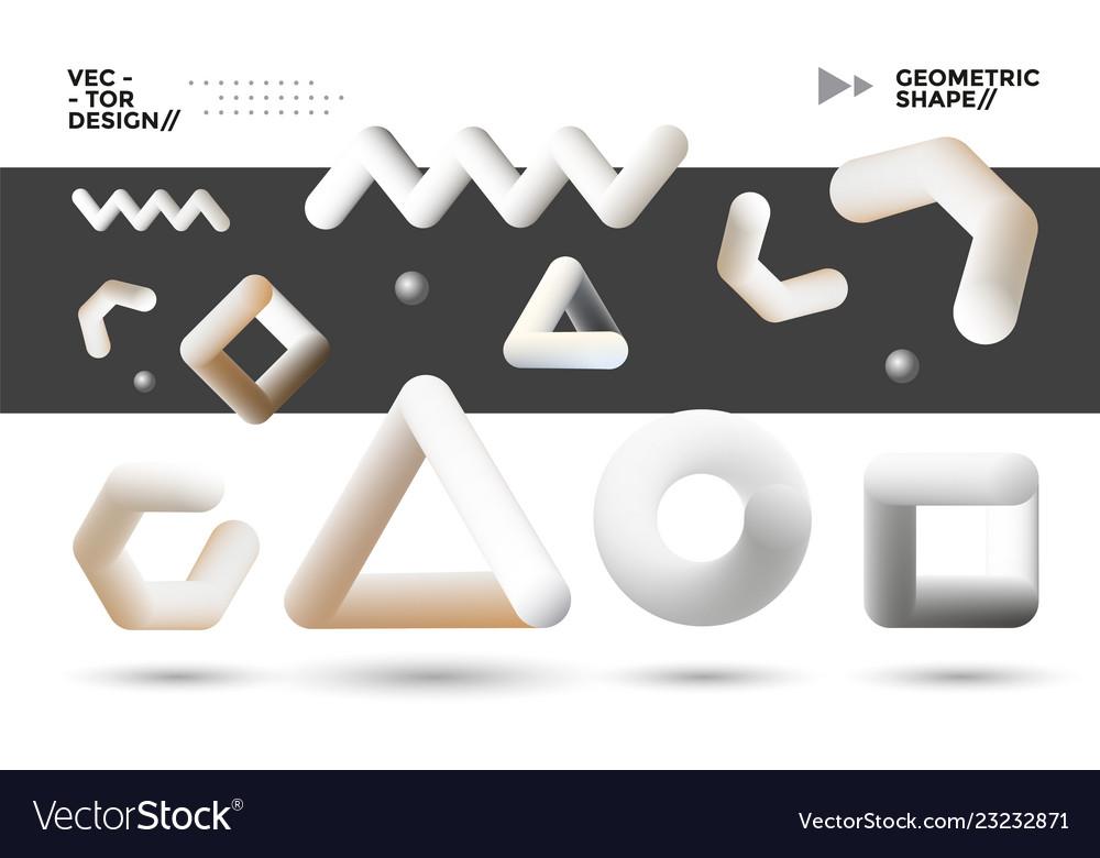 Blend geometric shapes