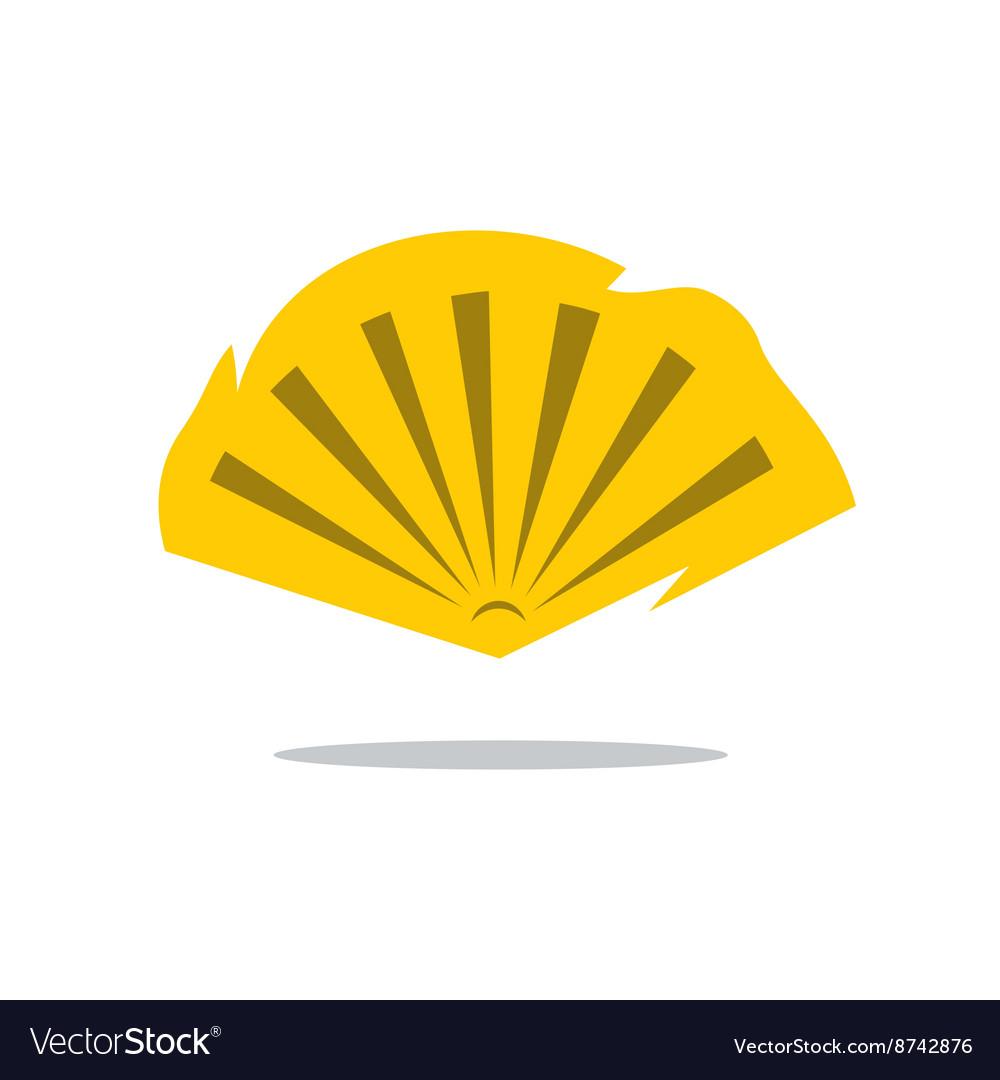 Folding Fan Cartoon