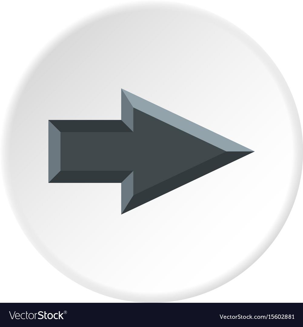 Pointer icon circle