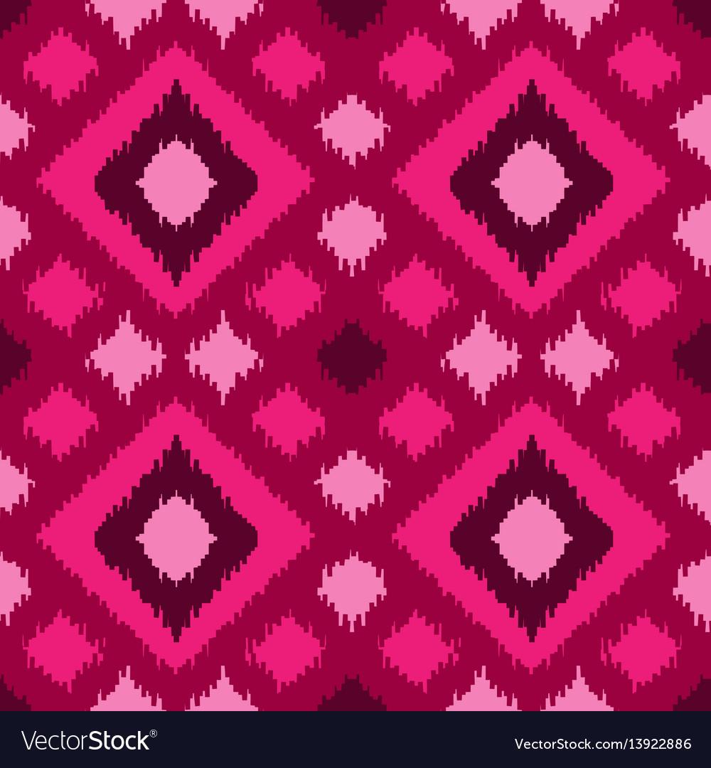 Ethnic squared seamless pattern