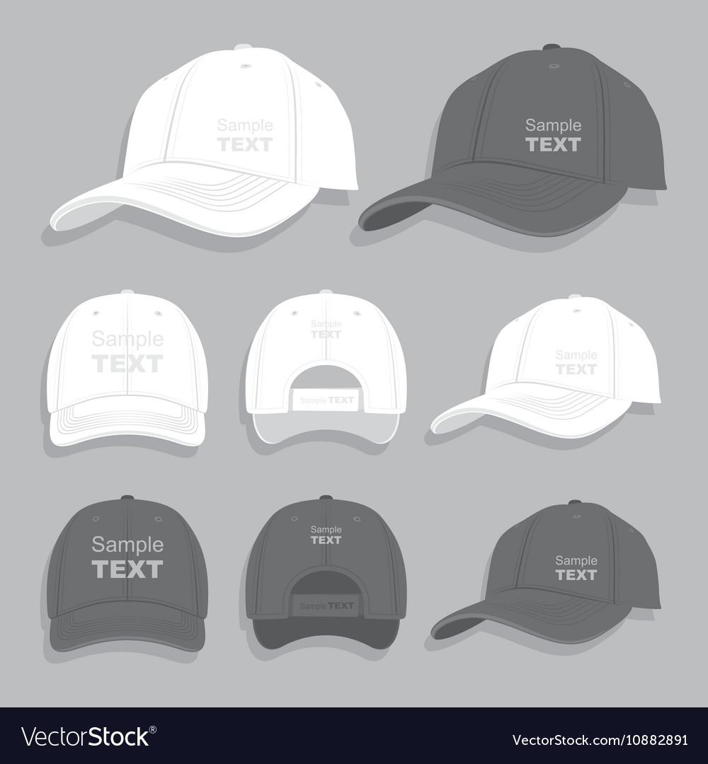 Baseball cap vector image