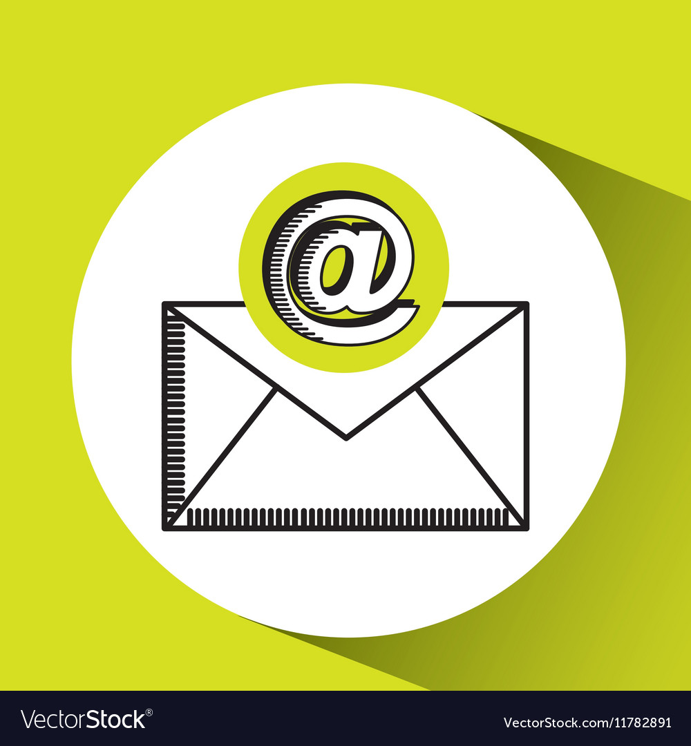 Email mail concept chat message icon