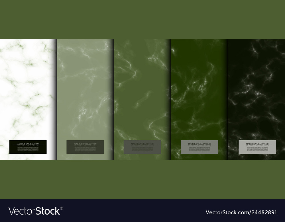 Marble collection abstract pattern texture matcha
