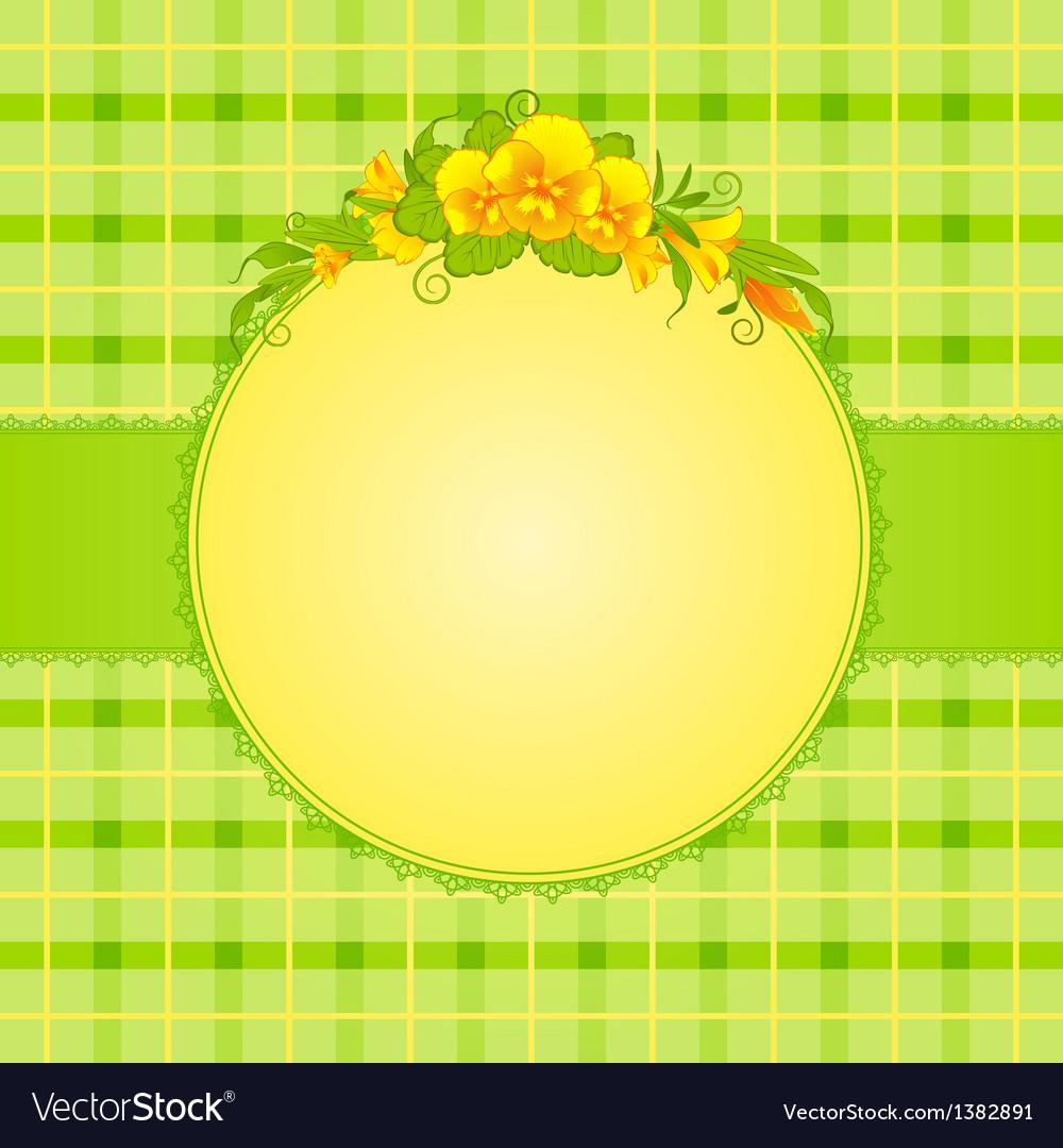 Scrapbooking background vector image