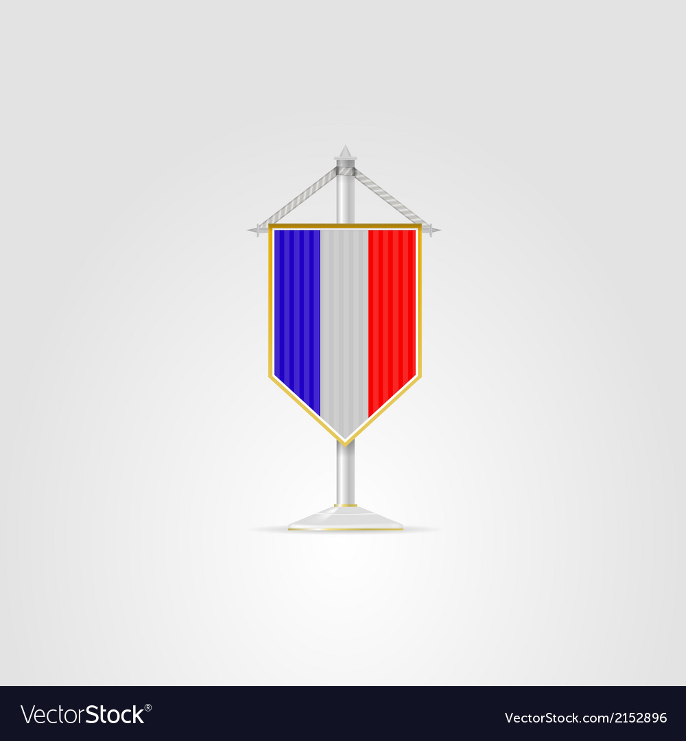 National symbols of European countries France vector image