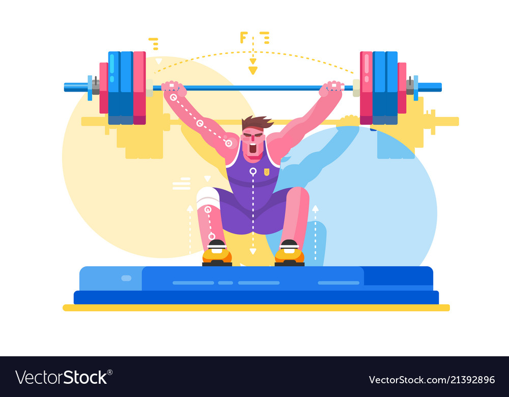 Weight lifting athlete competitions
