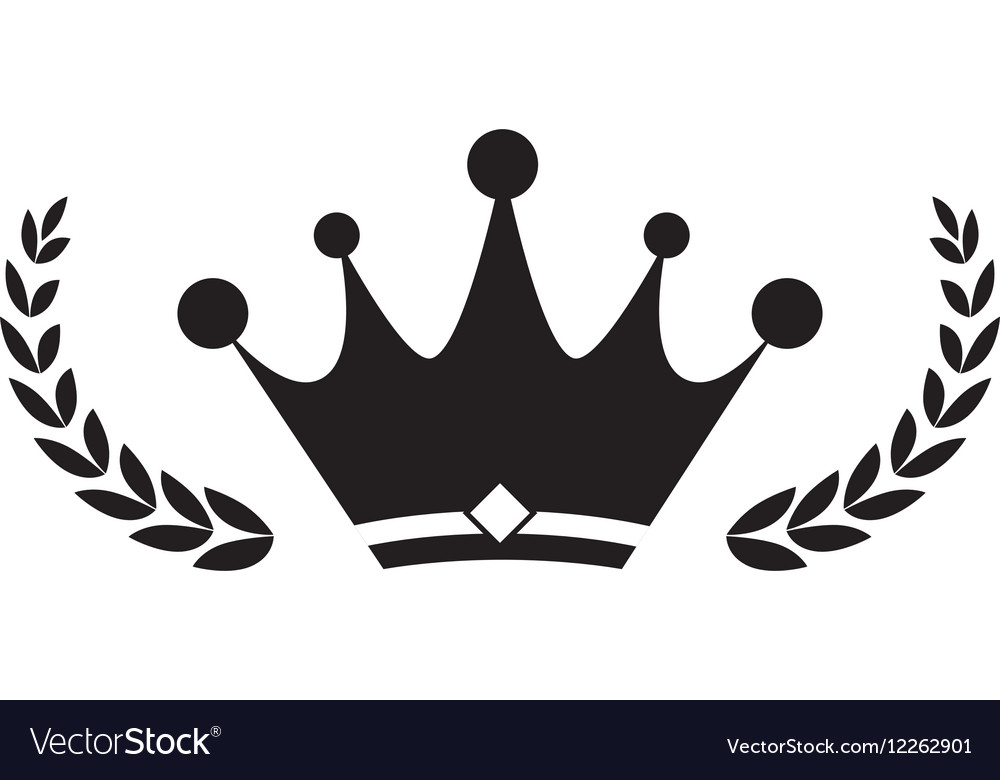 Crown Royal Symbol Royalty Free Vector Image Vectorstock