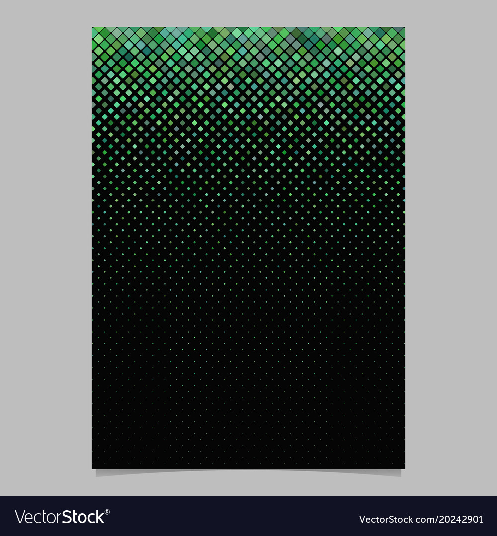 Geometrical diagonal square pattern poster