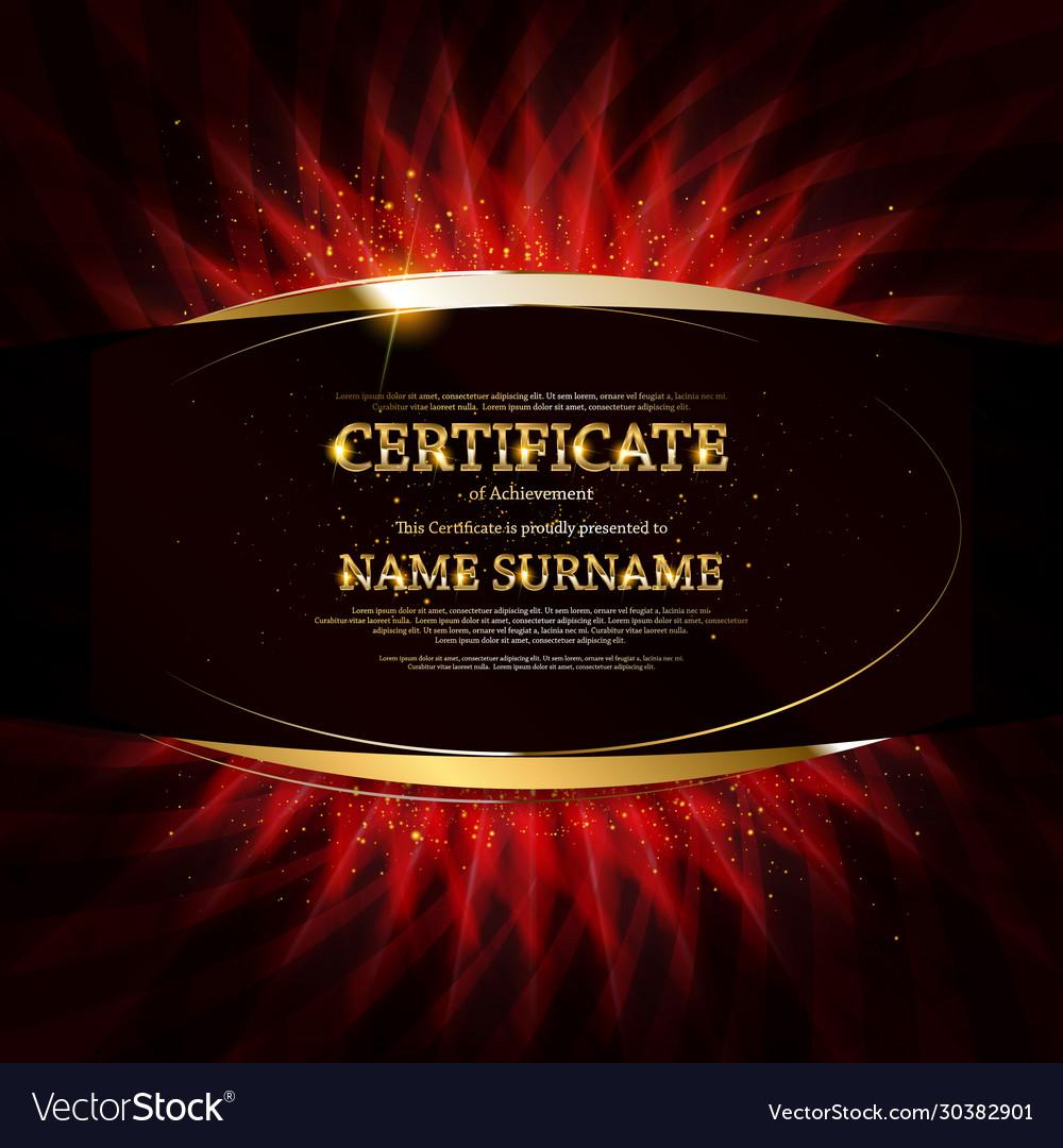 Gold certificate achievement