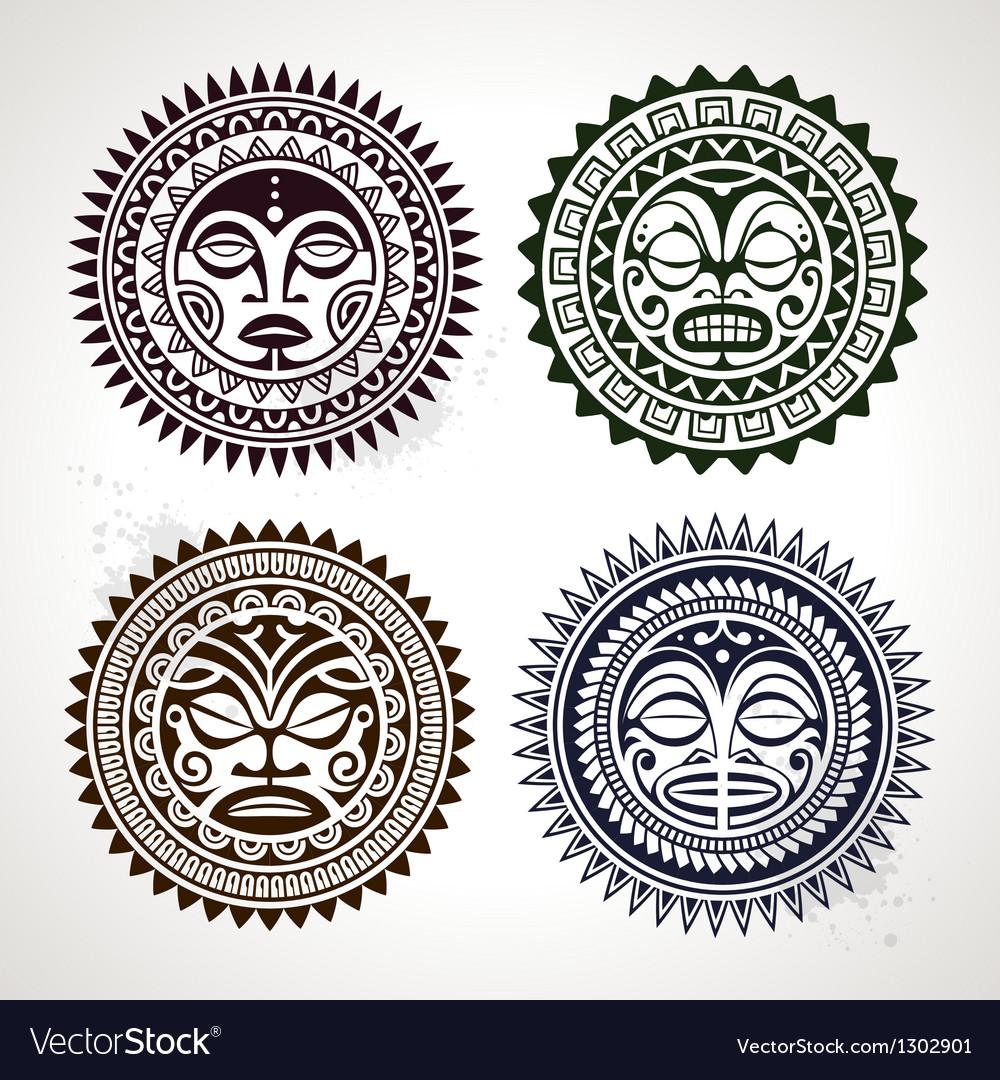 Polynesian Circle Patterns